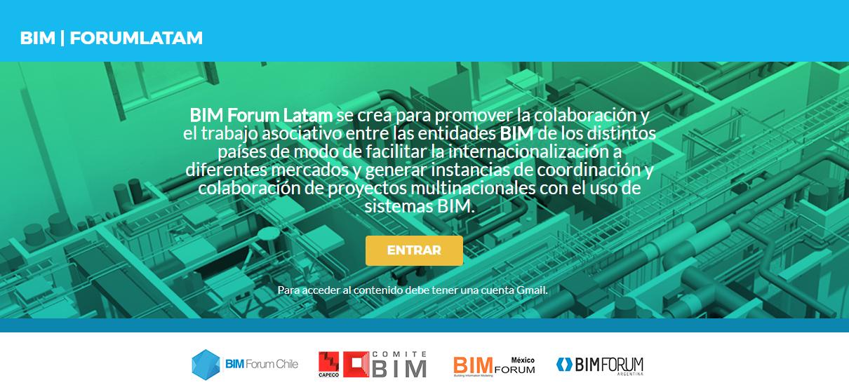 BIM Forum Chile asume coordinación de BIM Forum Latam