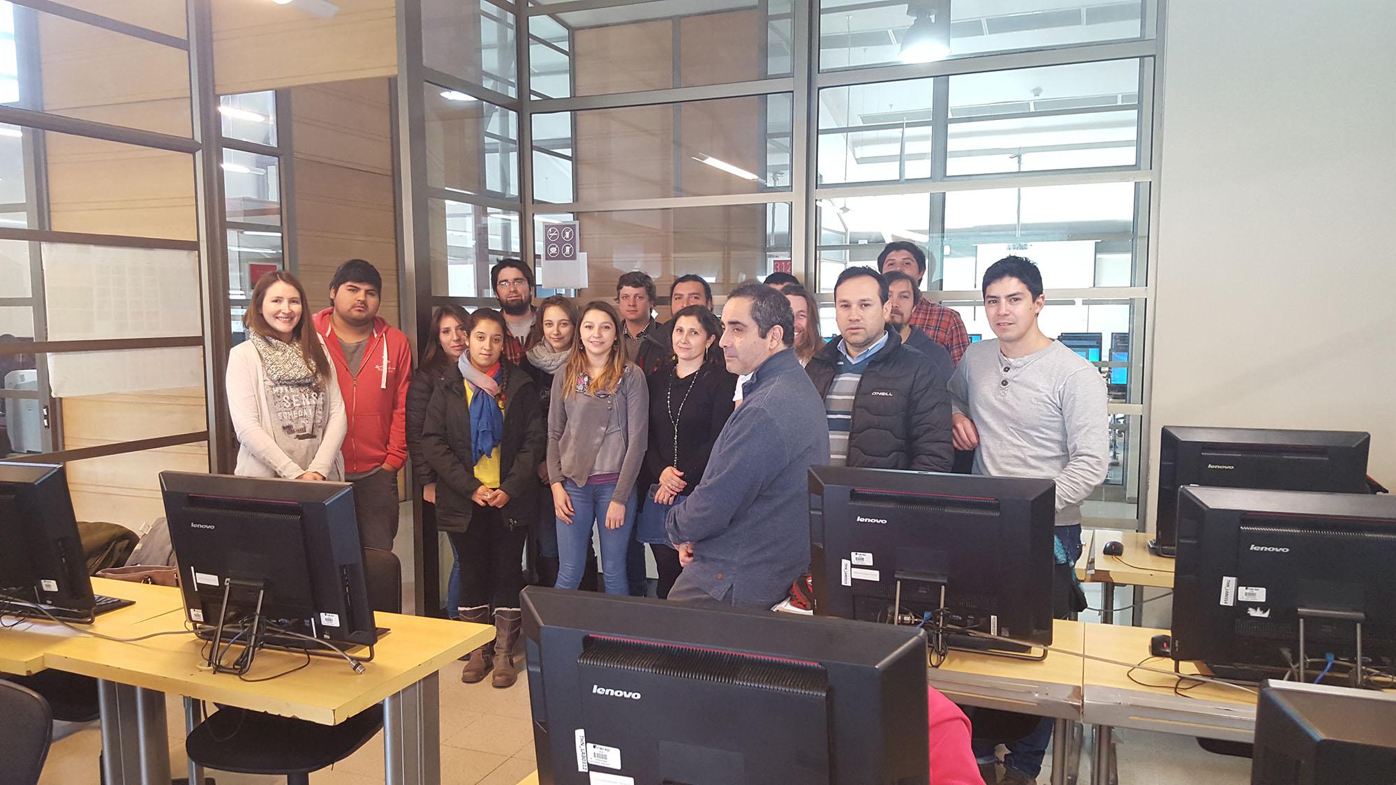 En Concepción se ejecuta Programa de Fortalecimiento Empresarial (PFE) en Metodología BIM