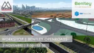 Workshop Bentley OpenRoads @ Providencia | Región Metropolitana | Chile