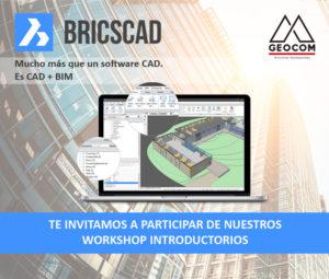 Workshops introductorios BricsCAD @ Providencia | Región Metropolitana | Chile
