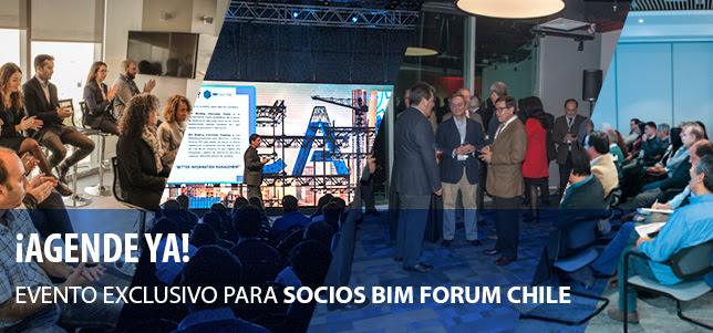 Networking exclusivo para socios BIM Forum Chile