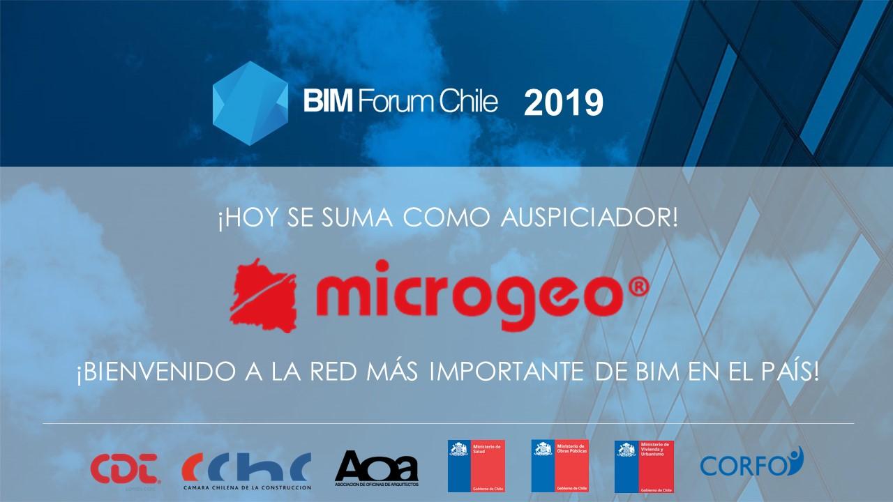 Microgeo se integra a BIM Forum Chile
