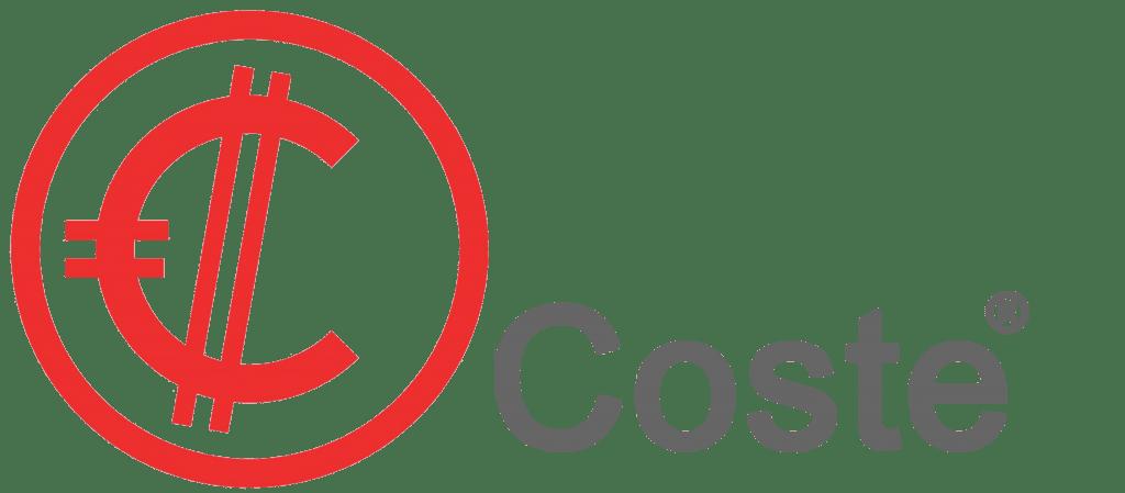LOGO COSTE LETRAS GRIS fondo transparente 2